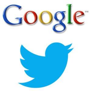 Het experiment van Google en Twitter