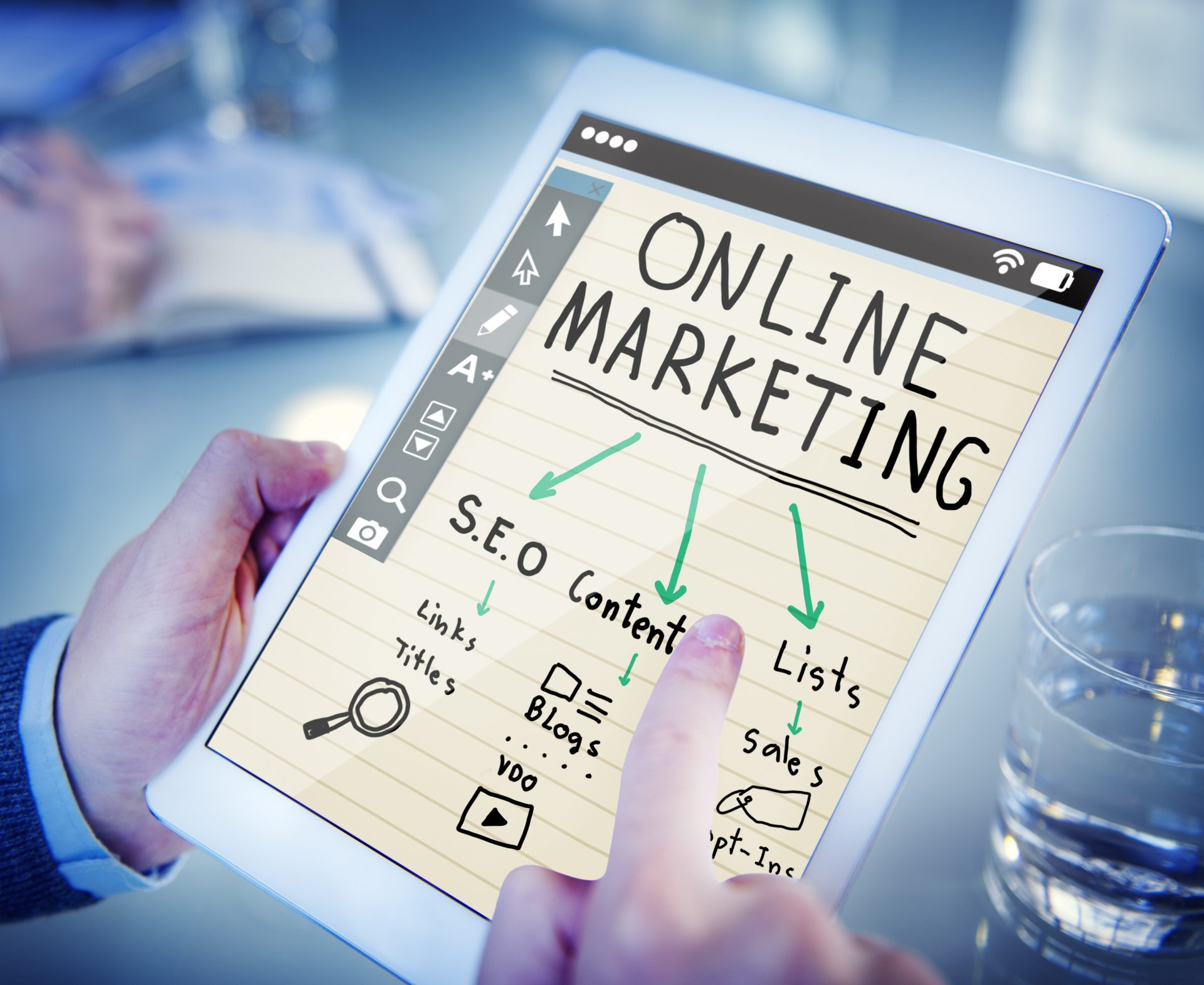 Online marketing strategie per branche